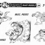 Model Sheets - Image 1 of 38